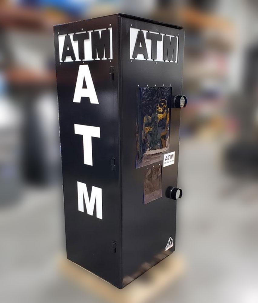 Gorilla ATM Full-Security Surround Black Front